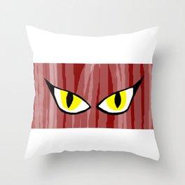 Eyes Throw Pillow