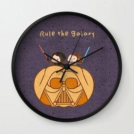 Reylo - Rule the Galaxy Wall Clock