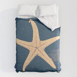 blue seashell Comforters