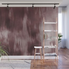 Fusion Abstract Watercolor Blend Pantone Red Pear / Fluid Art Ink Wall Mural