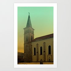 The village church of Julbach I | architectural photography Art Print