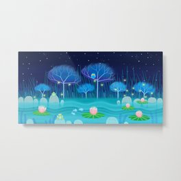 Treescape 3 Metal Print