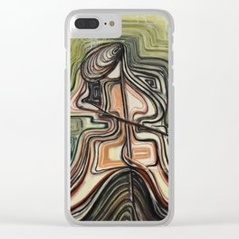 cellist Clear iPhone Case