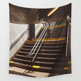 Brooklyn Subway II Wall Tapestry