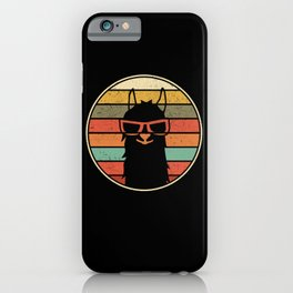 Cool Llama Alpaca | Funny Gift iPhone Case
