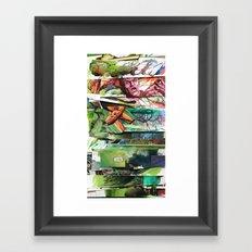 comic strips 2 Framed Art Print