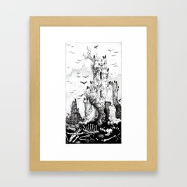 Tarot - The Tower Framed Art Print