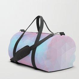 Mozaic design in soft colors Duffle Bag