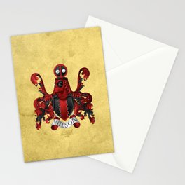 Dead pool Coat of Arms Stationery Cards