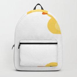love ducks tee farmer duck fan rubber duck quack Backpack