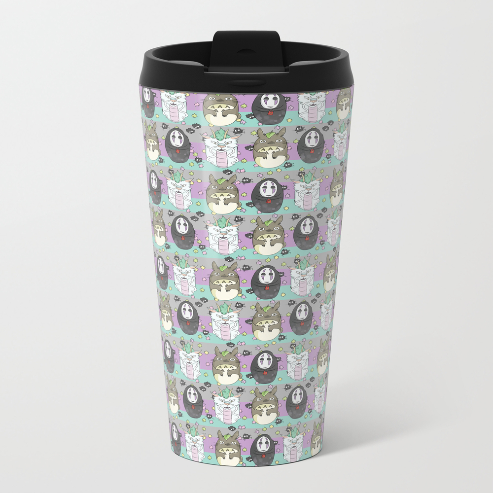 Specialty Sprite Metal Travel Mug by Threadedcandycustoms MTM8808248