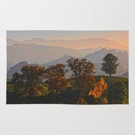 Hilly Landscape Rug