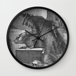 There, There, my Pet... Wall Clock