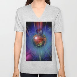 Our world is magic - Freedom Unisex V-Neck