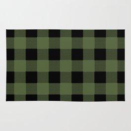 Green Buffalo Plaid Rug