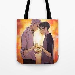 Viktor and Yuuri Tote Bag