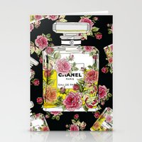 perfume Stationery Cards featuring Perfume by radaaban