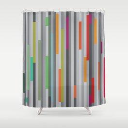 Mod Stripes — Moody Shower Curtain