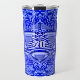 Natural 20 Mandala Purity of the Paladin Travel Mug