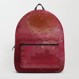 Pink and Red Moon Backpack