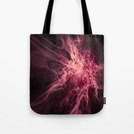 Real Red Fire Tote Bag