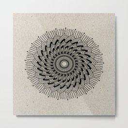 Digital Mandala #2 Metal Print