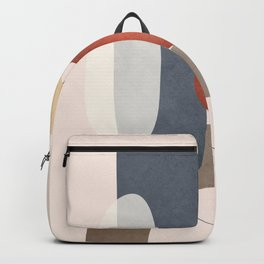 Minimal Abstract Shapes No.48 Backpack