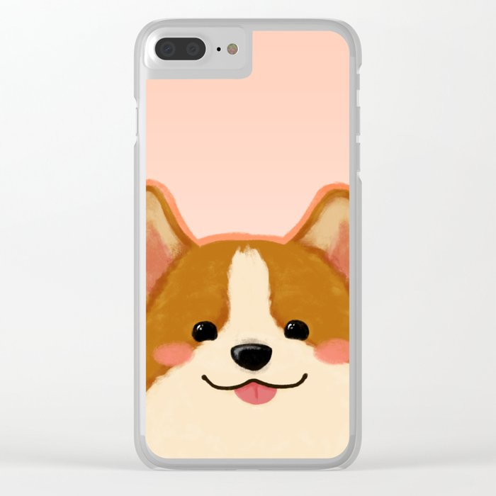 Corgi [blep!] Clear iPhone Case