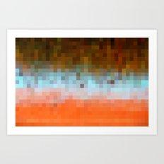 Nature Pixels No1 Art Print