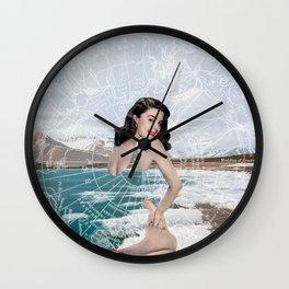 The Arctic Circle Wall Clock