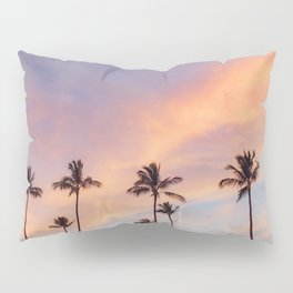 Palm Tree Walks in Kihei Pillow Sham