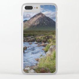 King of the Mountains Clear iPhone Case