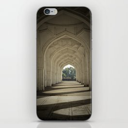 Arched colonnade iPhone Skin