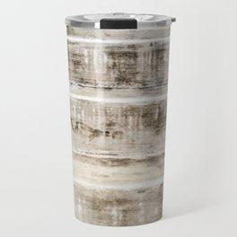 Cement Stripes Travel Mug