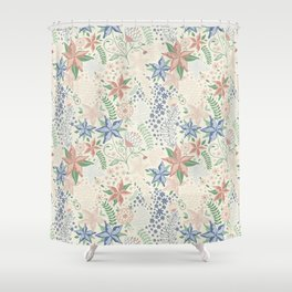 Caladenia Shower Curtain