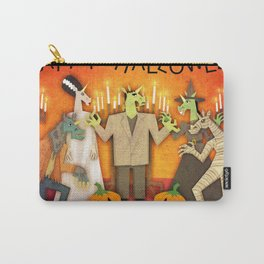 Unicorn Halloween Party Carry-All Pouch