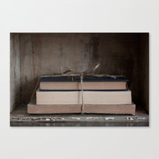 Bundle of Books Canvas Print
