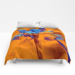 Glowing Iris... Comforters