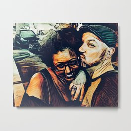 Fausto and Candice Metal Print