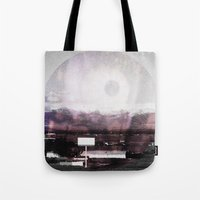 horror Tote Bags featuring HORROR by Nicole Mawby