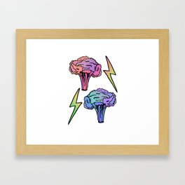 Veggie Power! Framed Art Print