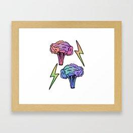 Veggie Power! Framed Art Print
