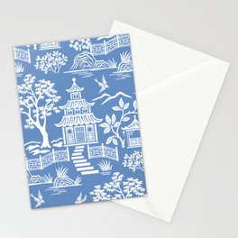 Chinoiserie Pagoda Stationery Cards