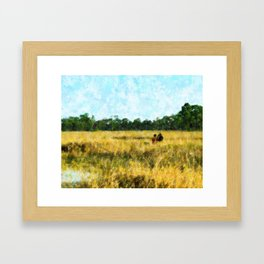 Playmates Framed Art Print