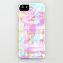 abstract pastell  iPhone Case