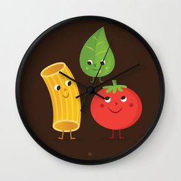 AWESOME THREESOME Wall Clock