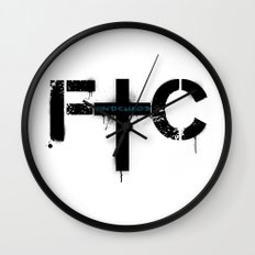 FindChaos - Logo Wall Clock