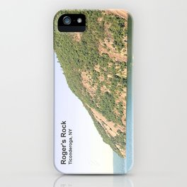 Roger's Rock on Lake George iPhone Case