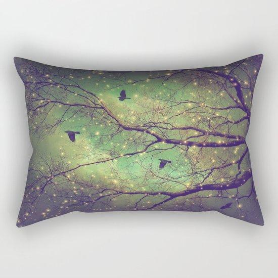 Where Dusk Meets Dawn Rectangular Pillow