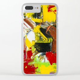 straight no chaser Clear iPhone Case
